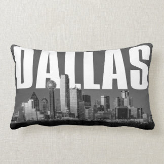 Dallas Cityscape Lumbar Cushion