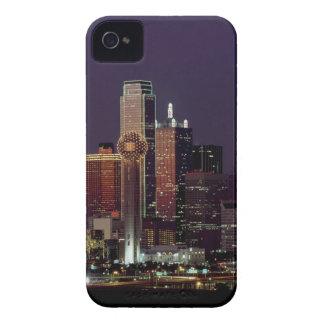 Dallas Night Skyline Case-Mate iPhone 4 Case