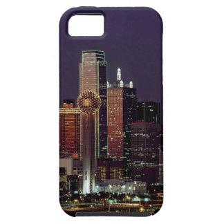 Dallas Night Skyline iPhone 5 Cover