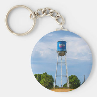 Dallas, SD Water Tower & Museum Basic Round Button Key Ring