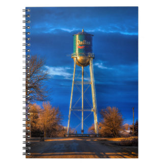 Dallas, SD Water Tower Note Book