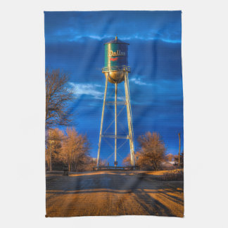 Dallas, SD Water Tower Tea Towel