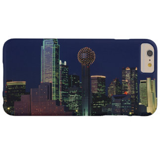 Dallas Skyline at Night Barely There iPhone 6 Plus Case