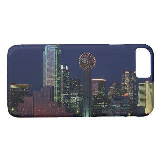 Dallas Skyline at Night iPhone 7 Case