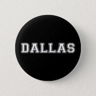 Dallas Texas 6 Cm Round Badge