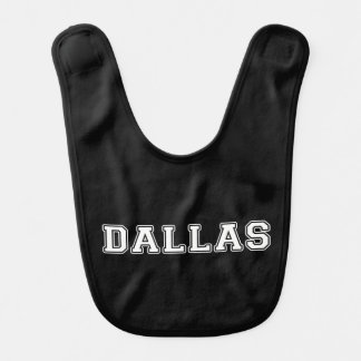 Dallas Texas Baby Bib