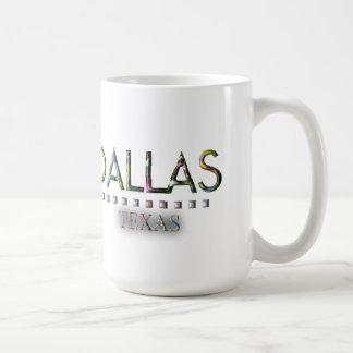 Dallas, Texas Basic White Mug