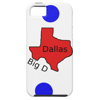 Dallas, Texas City Design (Big D) Case For The iPhone 5
