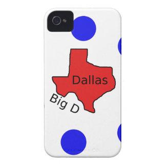 Dallas, Texas City Design (Big D) iPhone 4 Cover