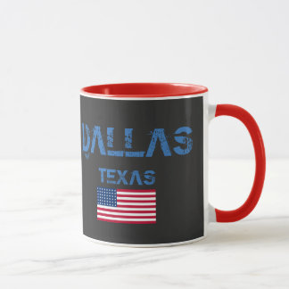 Dallas Texas Flag Mug