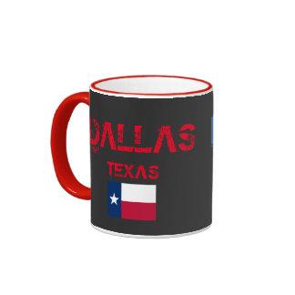 Dallas Texas Flag Mug