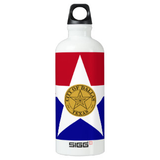 Dallas Texas Flag SIGG Traveller 0.6L Water Bottle