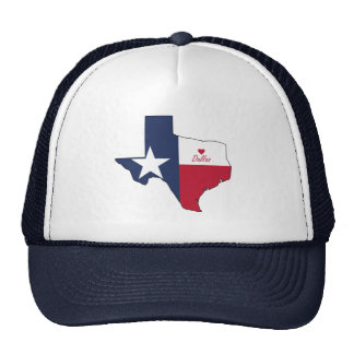 Dallas, Texas Trucker Hats