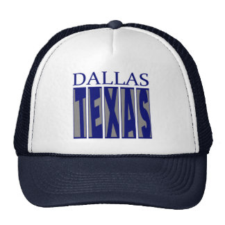 Dallas Texas Trucker Hats