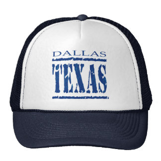 DALLAS, TEXAS HAT