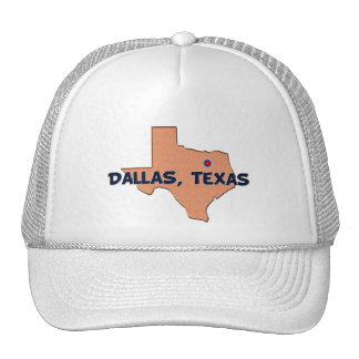 DALLAS, TEXAS MESH HATS
