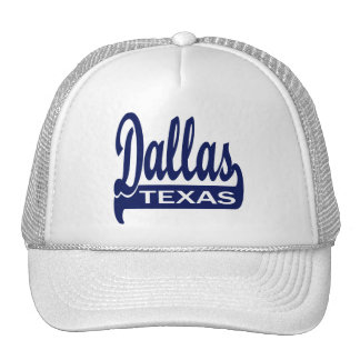 Dallas, Texas Trucker Hat