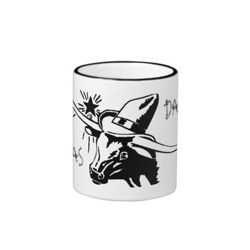 Dallas Texas Longhorn Ceramic Mug