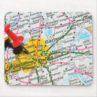 Dallas, Texas Mouse Pad