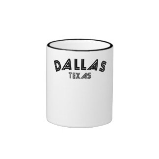 Dallas Texas Mug