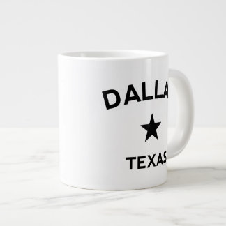 Dallas Texas 20 Oz Large Ceramic Coffee Mug