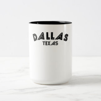 Dallas Texas Coffee Mugs