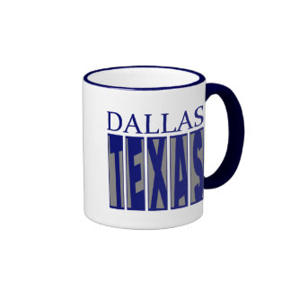 Dallas Texas Mugs