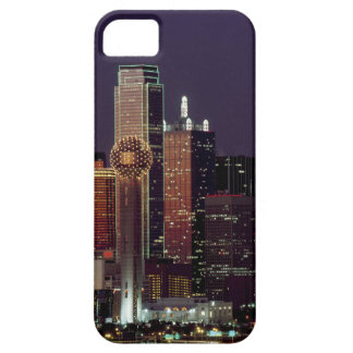 Dallas, Texas night skyline iPhone 5 Case