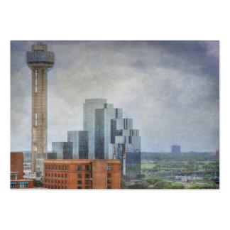 Dallas Texas Reunion Tower Business Card