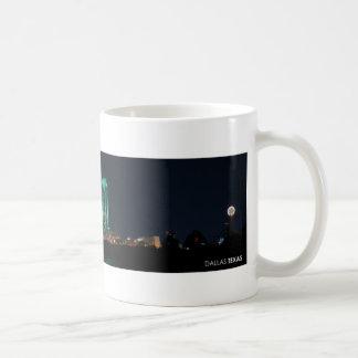 Dallas, Texas Skyline at Night Mug