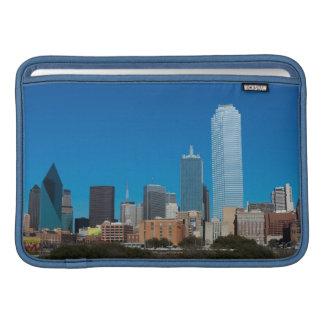 Dallas Texas skyline at sunset Sleeve For MacBook Air