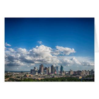 Dallas, Texas Skyline Greeting Card
