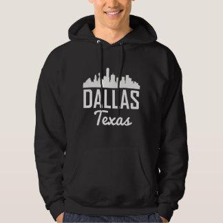 Dallas Texas Skyline Hoodie