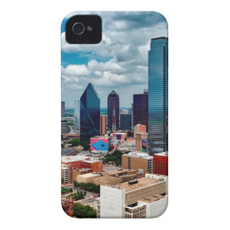 Dallas Texas Skyline iPhone 4 Covers