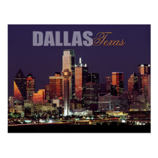 Dallas, Texas skyline Postcard
