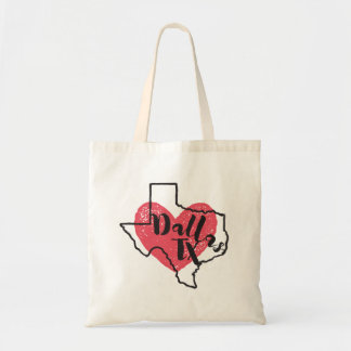 Dallas Texas State Tote Bag