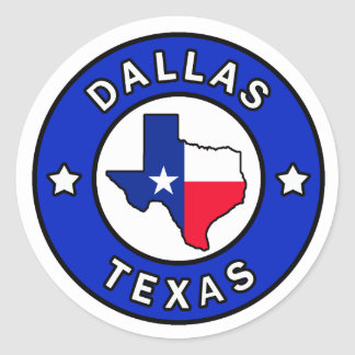 Dallas Texas Sticker