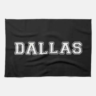 Dallas Texas Tea Towel