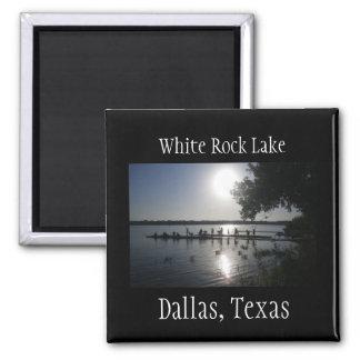 Dallas Texas White Rock Lake Magnet