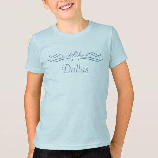 Dallas Tiara Scroll T-Shirt - Kids