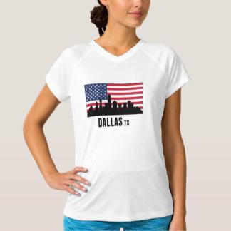 Dallas TX American Flag T-Shirt