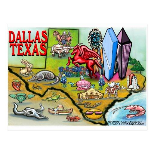 Dallas TX Postcard