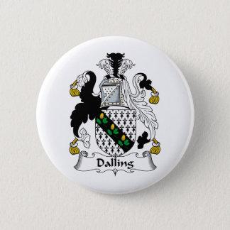 Dalling Family Crest 6 Cm Round Badge