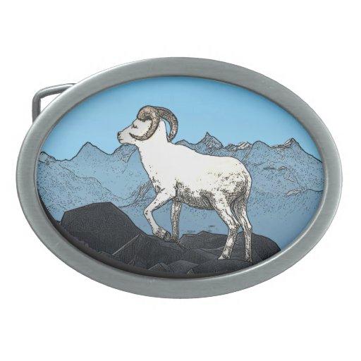 Dall's Sheep Belt Buckle
