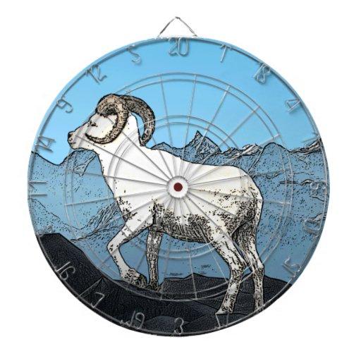 Dall's Sheep Dartboard