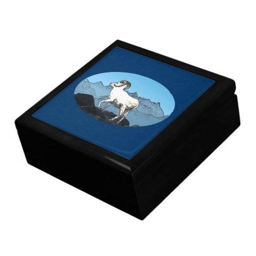 Dall's Sheep Trinket Boxes