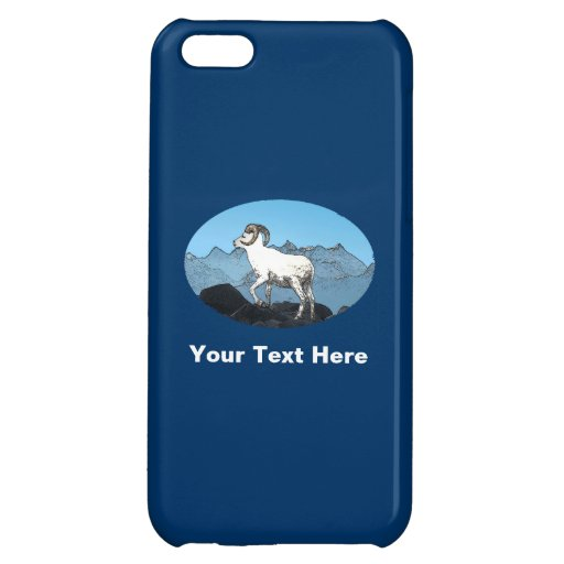 Dall's Sheep Cover For iPhone 5C