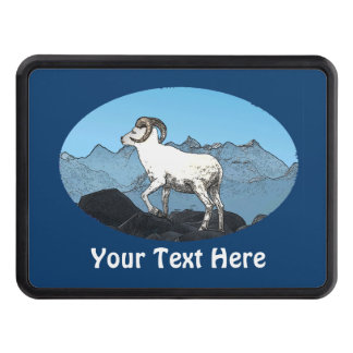 Dall's Sheep Trailer Hitch Cover