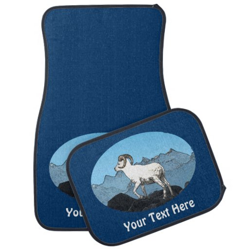 Dall's Sheep Floor Mat