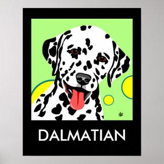 Dalmatian Art Poster